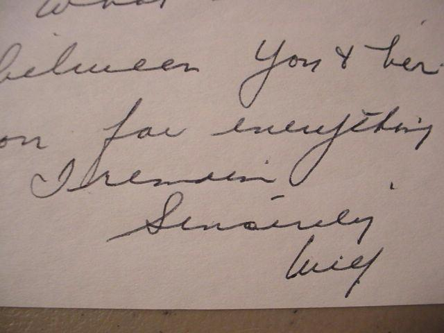 """WILF CARTER """"MONTANA SLIM"""" HANDWRITTEN SIGNED AUTOGRAPH 3-PAGE LETTER"""