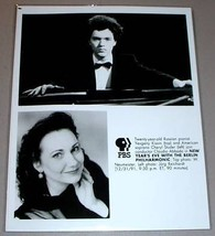 YEVGENY KISSIN & CHERYL STUDER - PBS TV Promo Photo - $14.95