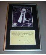 ALLEN GINSBERG Typewritten Hand Signed Quote & Photo - Archival Framed - $425.00