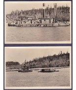 "(2) PORT LUDLOW, WA RPPC ""Seattle"" Dredging Vessel Project, near Port To... - $75.00"