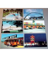(18) SOUTH OF BORDER SC COLOR POSTCARD LOT - $49.95