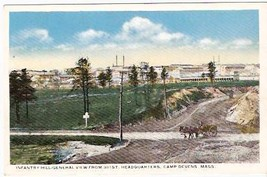 CAMP DEVENS, MA PRE-1920 POSTCARD - Infantry Hill - $13.75