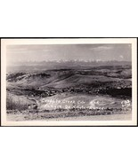 CRIPPLE CREEK COLORADO PANORAMIC TOWN VIEW RPPC POSTCARD - $14.95