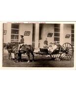 CUBAN VOLANTA PRE-1920 RPPC - Black Horse Cart Driver - $39.95