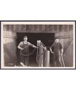 Welders Welding 1920s RPPC Port Townsend, WA Area H.C.S. Photo Gus Wyckoff - $49.75