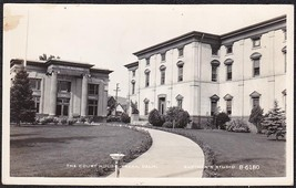 YREKA CA RPPC Photo Postcard - Courthouse #B-6180 - $12.75