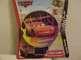 Night Light New Disney Pixar Cars Rotary Shade Directs Light Safety Secu... - $7.53