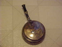 Vintage Silent Butler Ashtray Old Taunton Silvesmiths Silverplate Tobacc... - $24.75