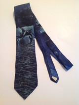 Mens Necktie Killer Whale Orca Fish Endangered Species Tie Ocean Whales ... - $16.79