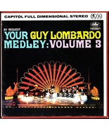 GUY LOMBARDO REEL TO REEL TAPE Your Medley Volume 3 - Capitol ZT-1598 - $15.75