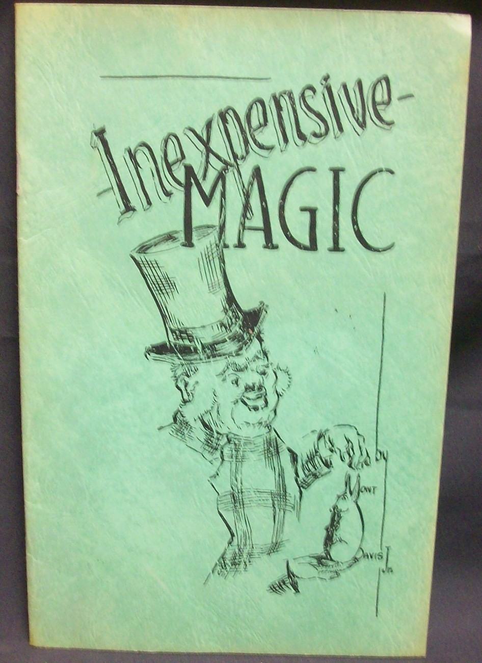 Primary image for Inexpensive Magic by Davis, Mont