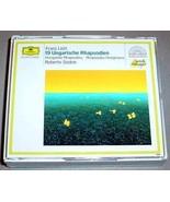 ROBERTO SZIDON 2 CD - LISZT 19 Ungarische Rhapsodien - $39.95