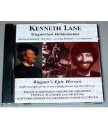 KENNETH LANE CD - Wagnerian Heldentenor - $39.95
