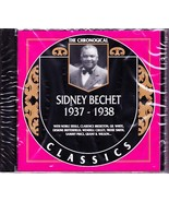 SIDNEY BECHET CD SEALED IMPORT 1937-1938 The Chronogical - Classics 593 - $49.75