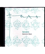 XENAKIS CD Electronic Music - EMF CD-003 (1997) - $49.75