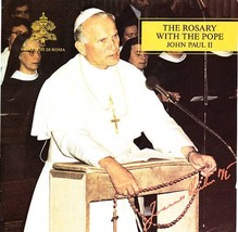POPE JOHN PAUL II 2 CD SET The Rosary with the Pope - Cesar ISR 0001-2 - $9.75