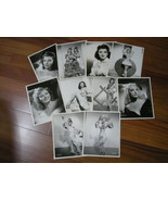 12 Autographed photos of  1940s Showgirls Earl Carroll's nightclub in Ho... - $80.00