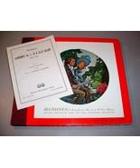 """BEETHOVEN SYMPHONY No.4 (4) 12"""" 78 RPM SET Arturo Toscanini - Victor M-676 - $34.75"""