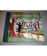 "SCHUBERT NO. 6 IN C (4) 12"" 78 RPM SET Thomas Beecham LSO - Victor DM-1014 - $34.75"