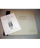 "BEETHOVEN PASTORAL (5) 12"" 78 RPM SET Arturo Toscanini - Victor DM-417 - $39.75"