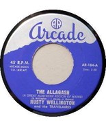 RUSTY WELLINGTON 45 RPM - MAINE COUNTRY Arcade 184 - $35.00