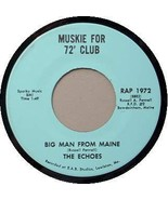 ED MUSKIE 45 RPM RECORD - Big Man From Maine - $35.00