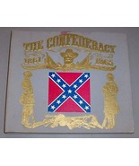 CONFEDERACY CIVIL WAR (4) FOUR RECORD SET & BOOK - $75.00