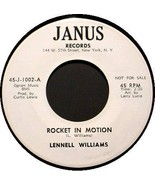 LENNELL WILLIAMS 45 RPM - Rocket in Motion - $35.00