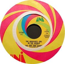 FUN AND GAMES 45 RPM Grooviest Girl in the World (1968) - $17.50