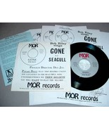 BOB RILEY 45 RPM PS BIO PRESS RELEASES - Gone / Seagull - $30.00