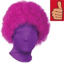 Wig - 2nd Skin - Afro - Purple - Accessory for Zentai Full Body Stretch ... - $11.54