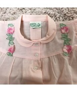Vintage Duets by Little Craft Pink Baby Dress (L) Size 3 -6 months - $14.54