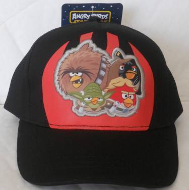 Primary image for ANGRY BIRDS STAR WARS BLACK SNAPBACK BALL CAP - YOUTH ONE SIZE FITS MOST