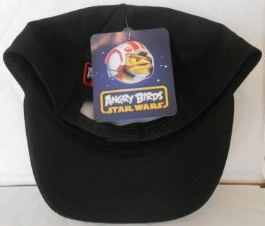 bd2bacdc902d1 ANGRY BIRDS STAR WARS BLACK SNAPBACK BALL CAP - YOUTH ONE SIZE FITS MOST