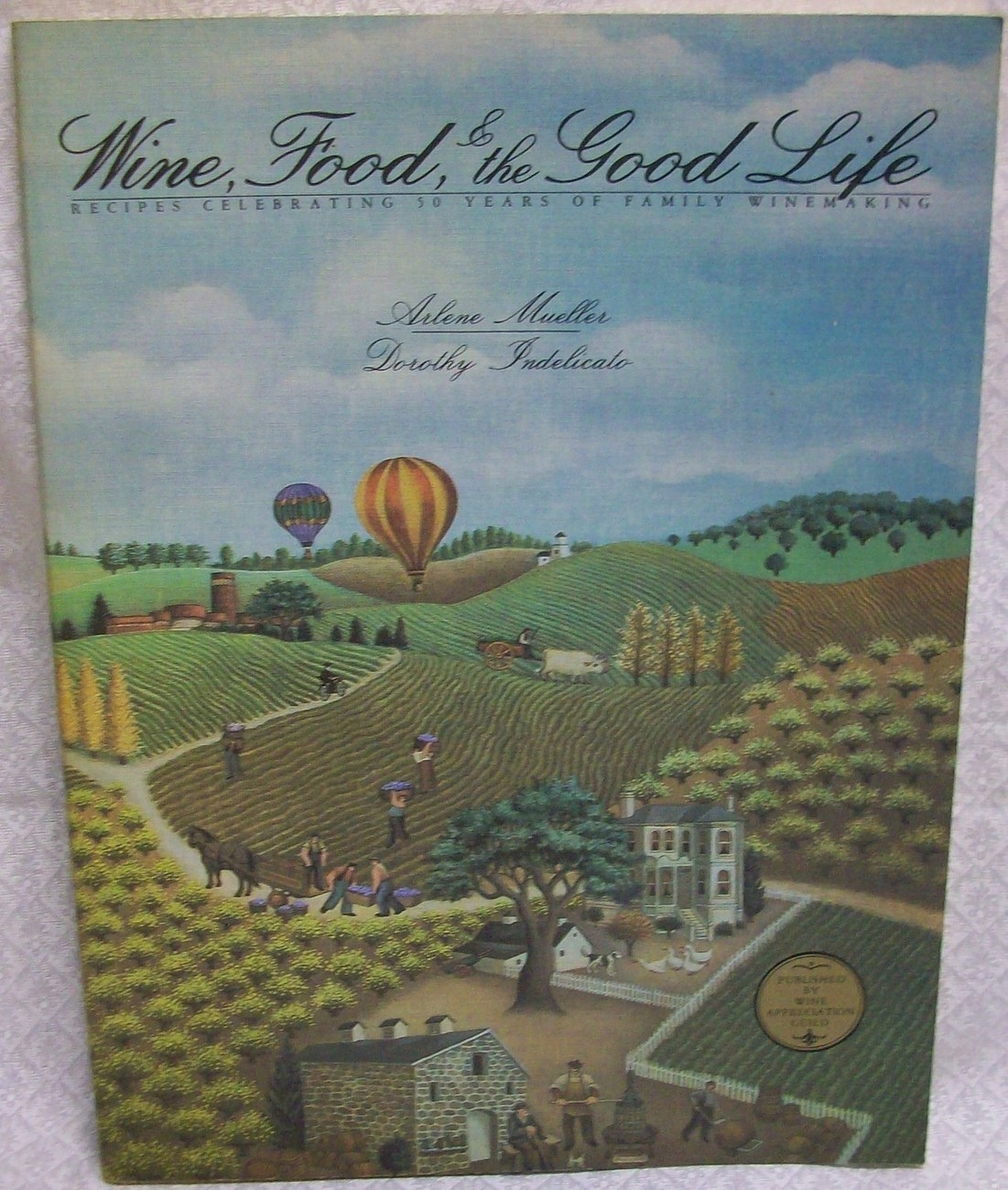 Primary image for Wine, Food and the Good Life by Mueller Arlene