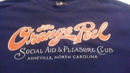 Vintage Orange Peel Social Aid and Pleasure Club - Medium T-Shirt - 100%... - $19.95