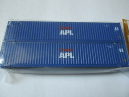 Jacksonville Terminal Company # 485001 APL med APL Logo 48' 3-42-3 Container (N) image 1