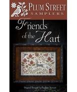 Friends of the Hart cross stitch Plum Street Samplers  - $14.40