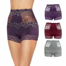 Rhonda Shear Lace Overlay Pin-Up Shortie 3-pack in Midnight Soiree, L (5... - $18.80