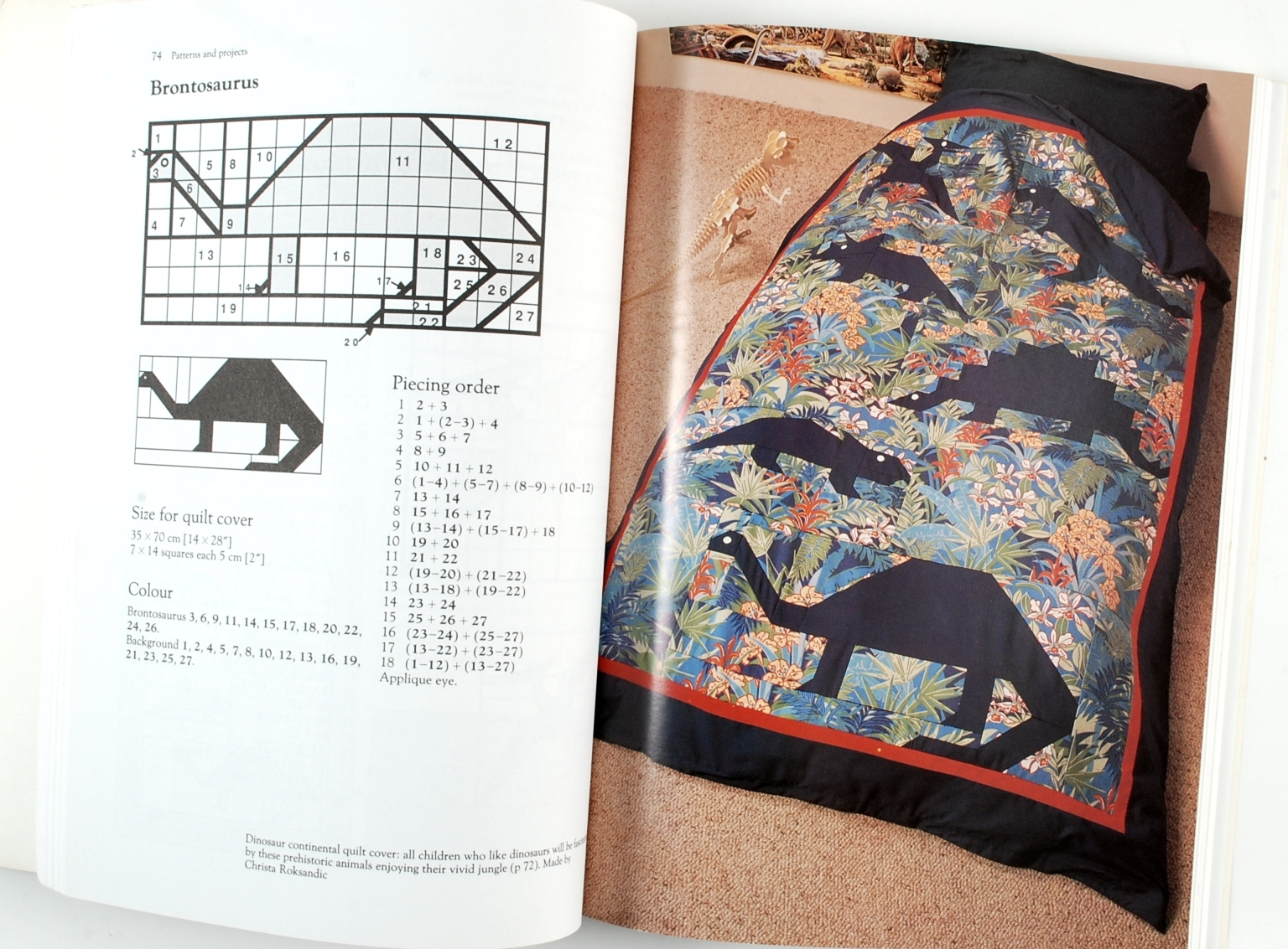 Patchwork quilts to make for children patterns quilting for Patchwork quilt book