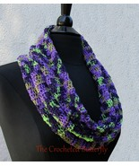 "CROCHET PATTERN - ""Almost"" Halloween Cowl and Gloves, crochet, ladies ac... - $0.00"