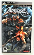 Undead Knights Sony PSP 2009 Game - $29.69