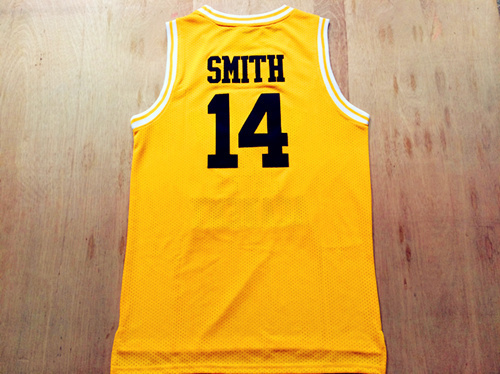 8a432443b Will Smith  14 Gold Bel-Air Academy Fresh Prince of Bel-Air Jersey