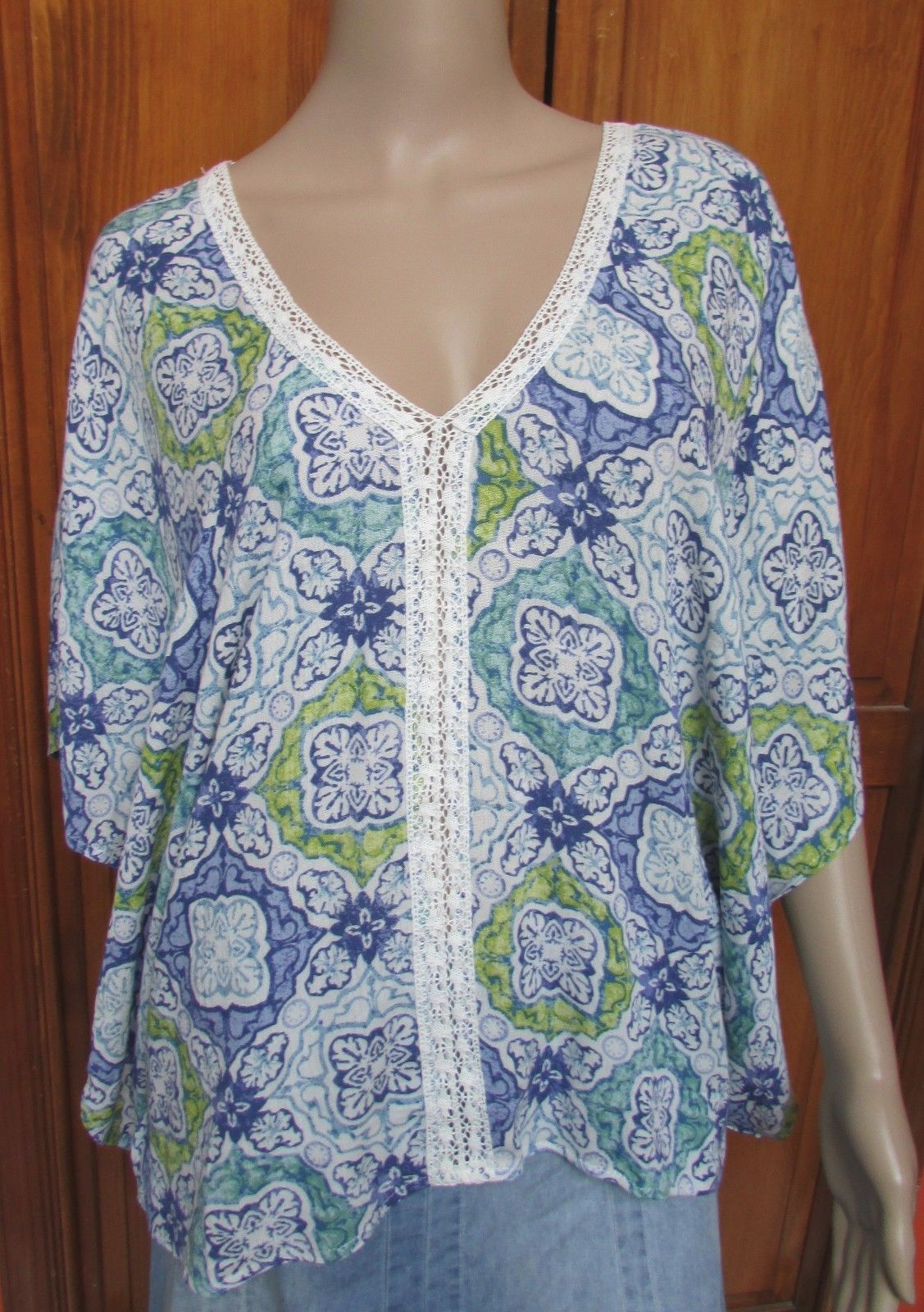 7ca01dd2e796 Love Stitch Dolman Sleeve Multi-Color Print and 50 similar items
