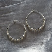 Otm - Ear Silver Faceted Bead HO