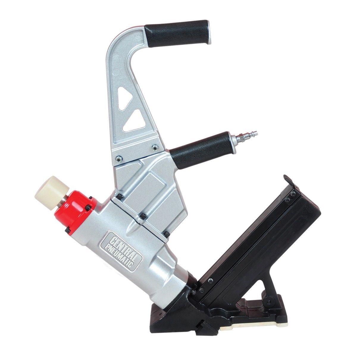 Air Nailer Stapler 2-in-1 Easily Install Hardwood Floors Professional Quality