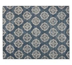 Pottery Barn Persian 9X12 Empire Scroll Tiles I... - $667.89