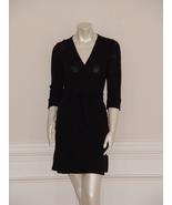DIANE von FURSTENBERG  JULIAN BLACK MINI DRESS  - US 10 - UK 14 - $175.00