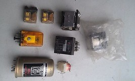 5 Ll88 Assorted Relays, 8 Pcs, 1 New In Pouch, Good Condition - $49.55