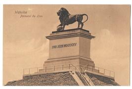 Belgium Waterloo Piedestal du Lion Dr Trenkler Co Lions Mound Vintage Postcard - $4.99